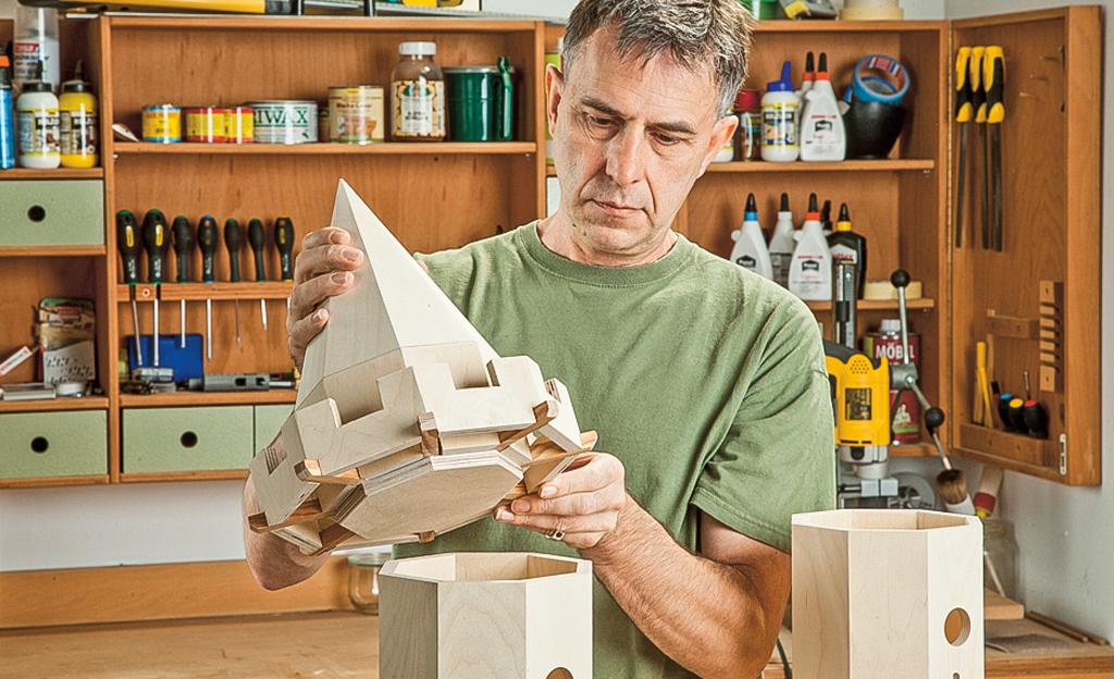 Bauplan Vogelhaus bauen