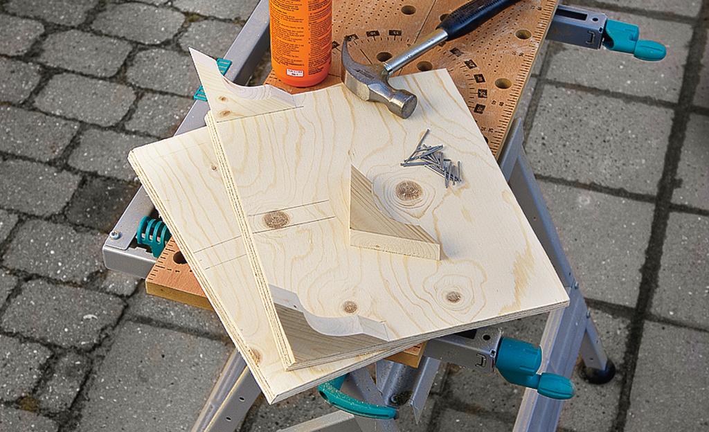 Vogel-Futterhaus bauen