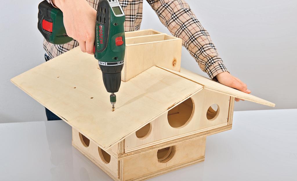 Vogelhaus Bauen Selbst De