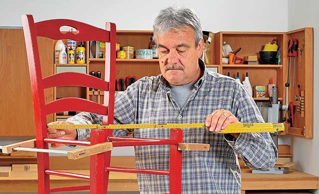 kaputter stuhl restaurieren reparaturen bild 9. Black Bedroom Furniture Sets. Home Design Ideas