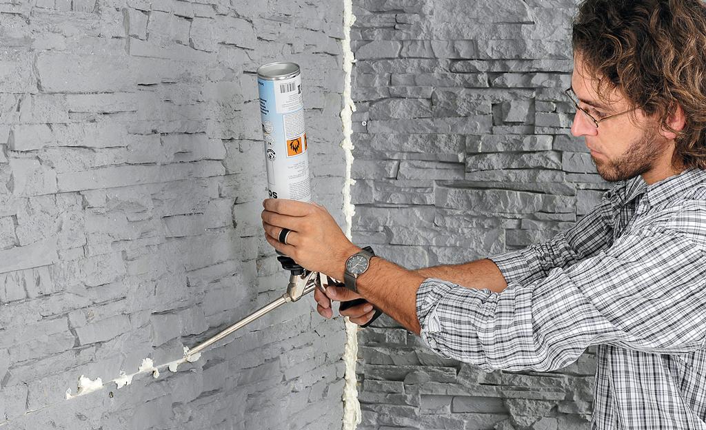 Relativ wandverkleidung steinoptik kunststoff innen VF59