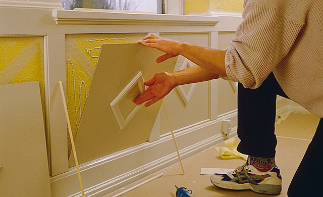 Wandvertäfelung bauen  Wandverkleidung  selbst.de