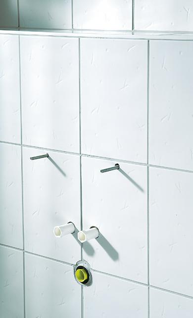 Wandanschluss Waschbecken
