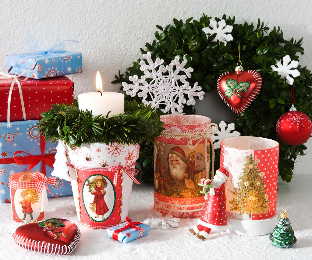 Adventsdekoration basteln - Weihnachtsdeko selber basteln mit kindern ...