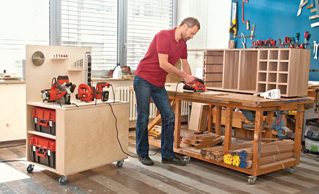 mobile werkbank selber bauen werkzeugschrank selbstde