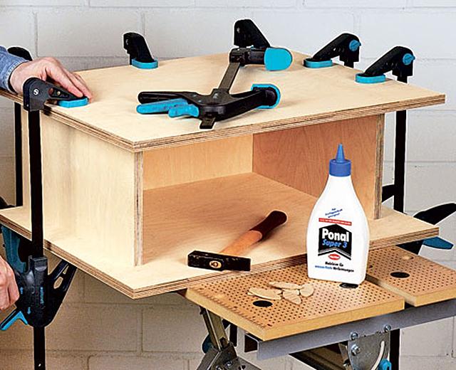 werkstattschrank holzarbeiten m bel. Black Bedroom Furniture Sets. Home Design Ideas