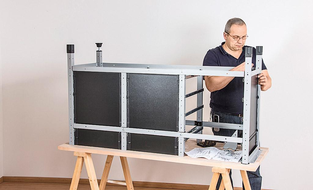 werkstatteinrichtung von wolfcraft ausstattung. Black Bedroom Furniture Sets. Home Design Ideas