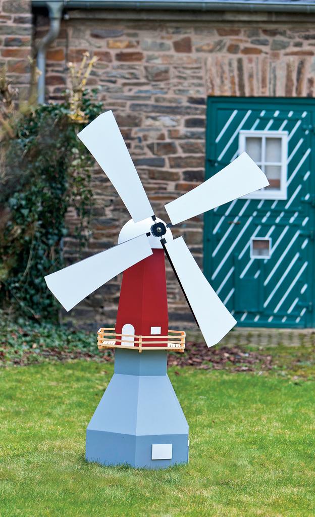 Bauplan: Kombi-Windmühle
