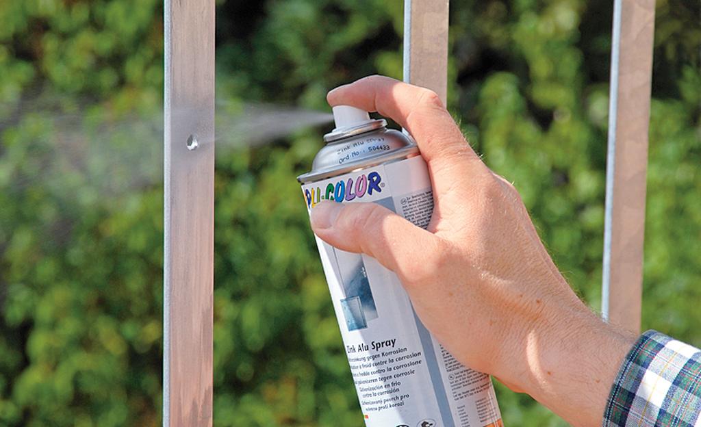 Sichtschutz für die Balkonbrüstung