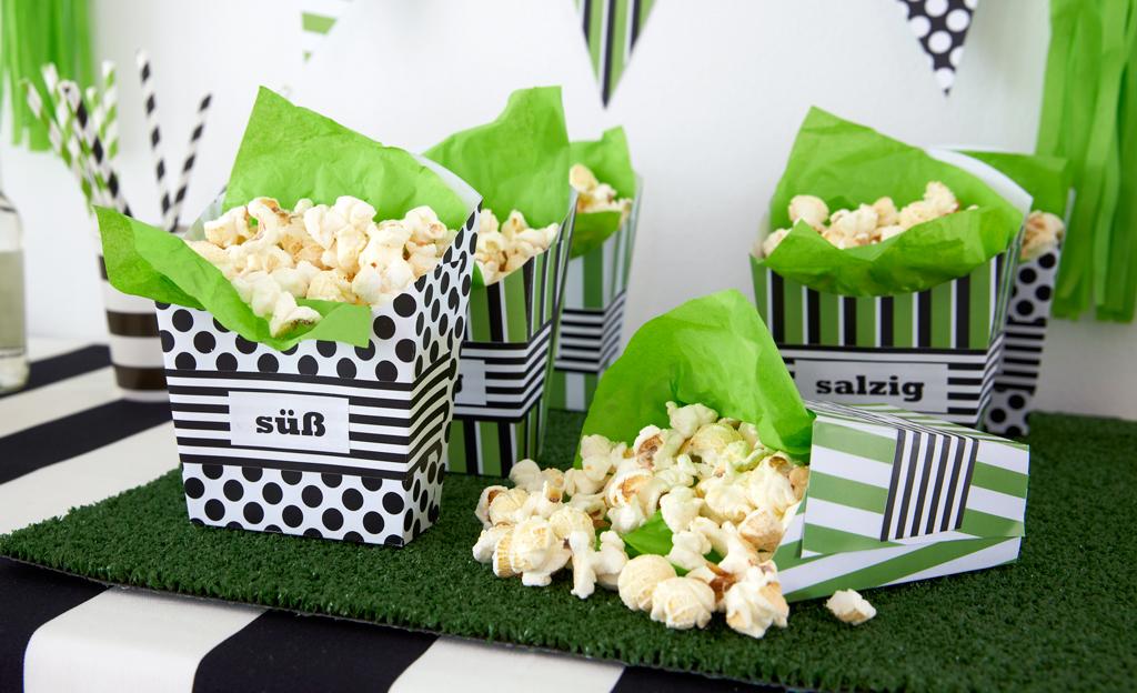 popcorn becher selbst basteln basteln. Black Bedroom Furniture Sets. Home Design Ideas