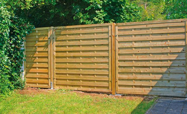 Gartenzaun Sichtschutz Gunstig ? Reimplica.info Sichtschutz Aus Holz Gartenzaun Bauen