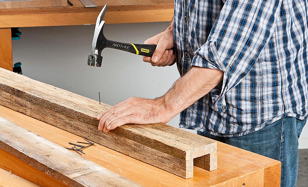 Zaunhocker bauen