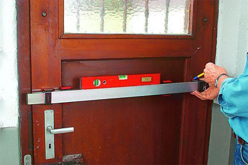 Querriegelschloss für die Tür selber montieren
