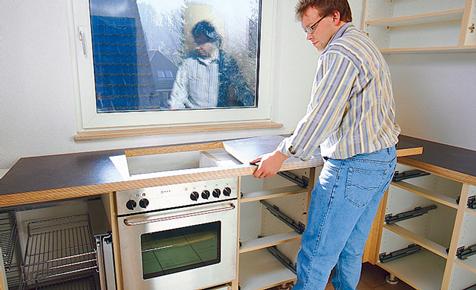 Küche: Möbel selber bauen