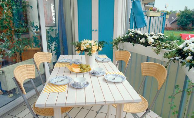 Vier ideen zur balkongestaltung garten balkon for Balkongestaltung ideen