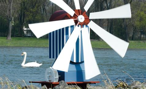 Windmühle bauen