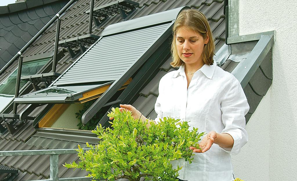 Dachflächenfenster: Rollladen nachrüsten
