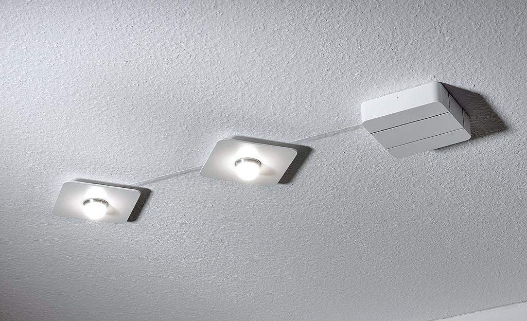 LED-Deckenleuchte montieren