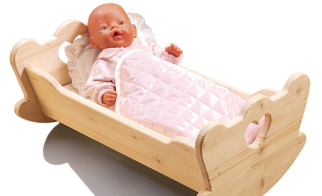Кроватки для кукол из дерева своими руками и