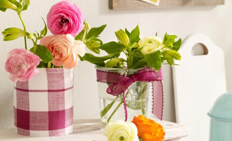 Blumentopf aus Konservendosen basteln