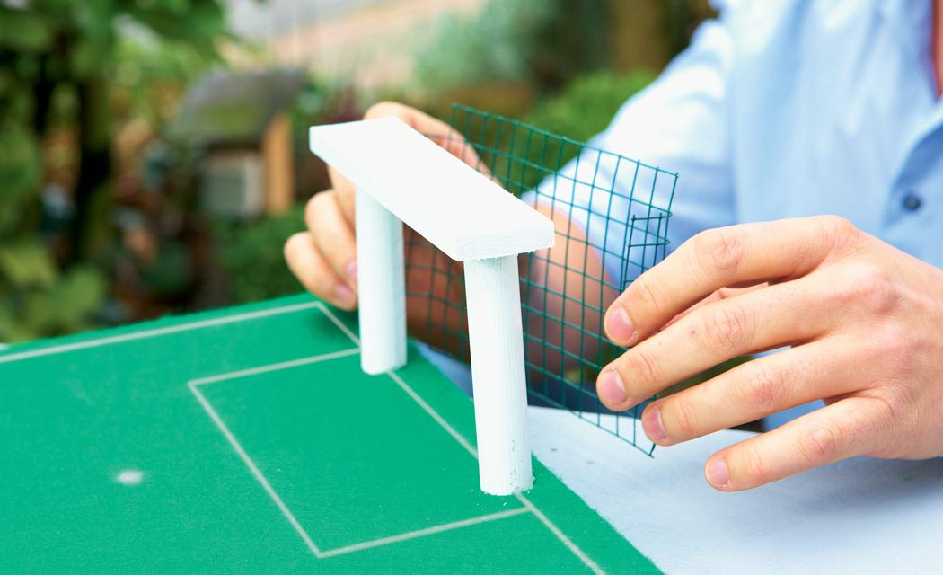 Tischfußball bauen