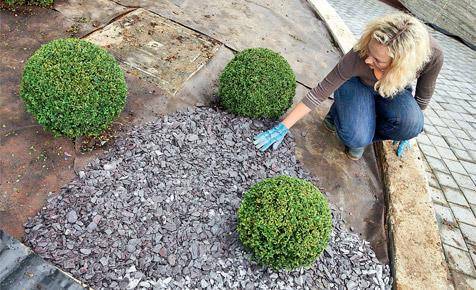 Gartenvlies gegen Unkraut