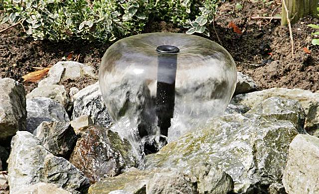 Springbrunnen bauen