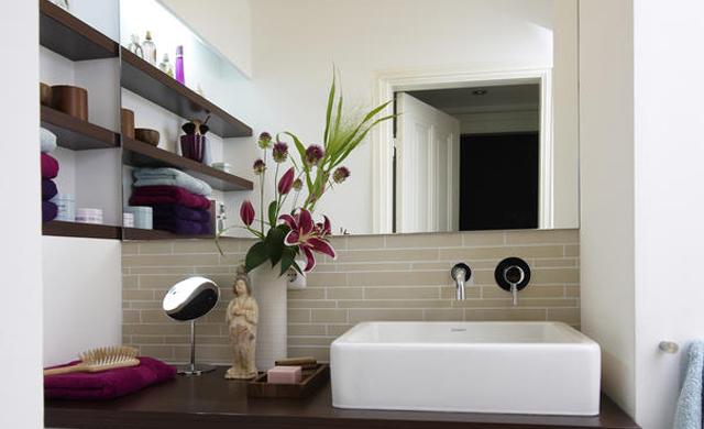 Viel Bad auf engstem Raum