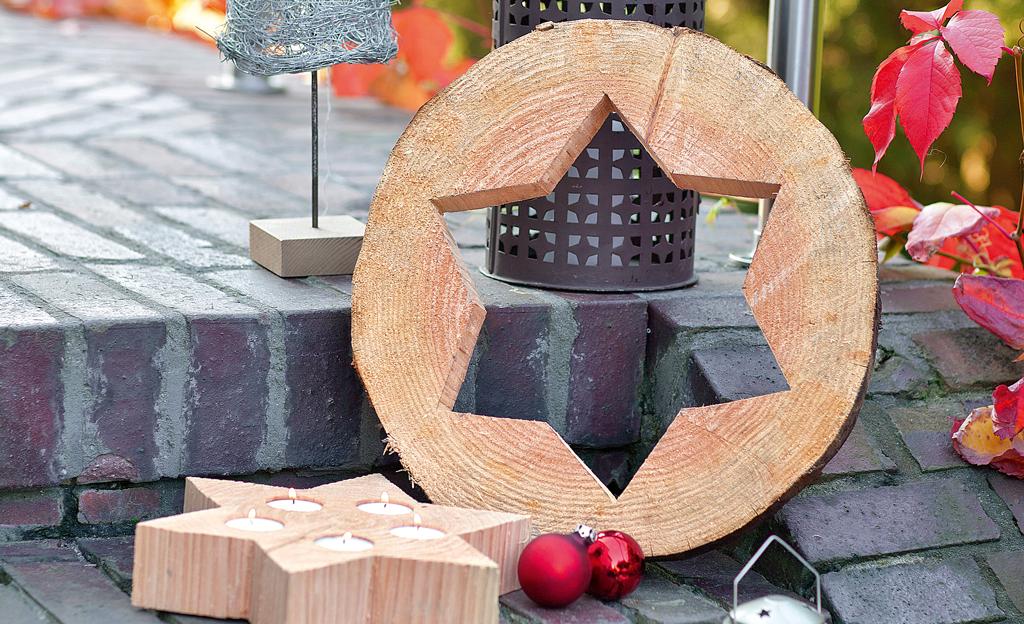 basteln mit baumscheiben basteln bild 8. Black Bedroom Furniture Sets. Home Design Ideas