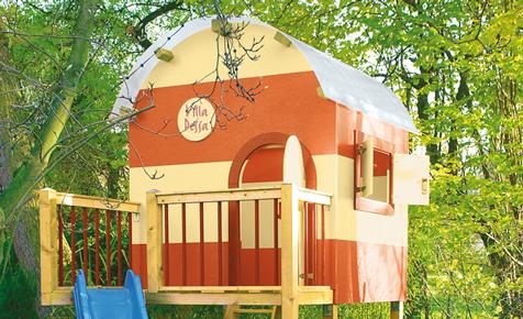 Bauplan: Kinderhaus bauen