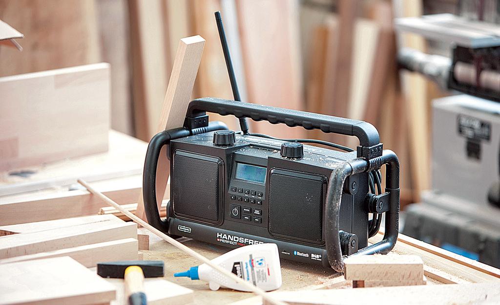 Robustes Baustellenradio