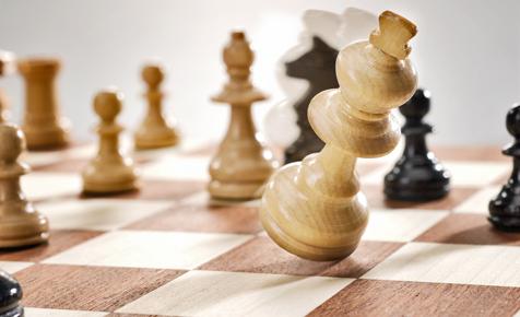 Brettspiel: Schach, Dame, Mühle