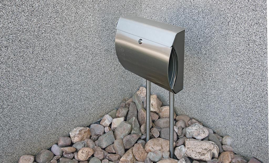 Briefkasten montieren