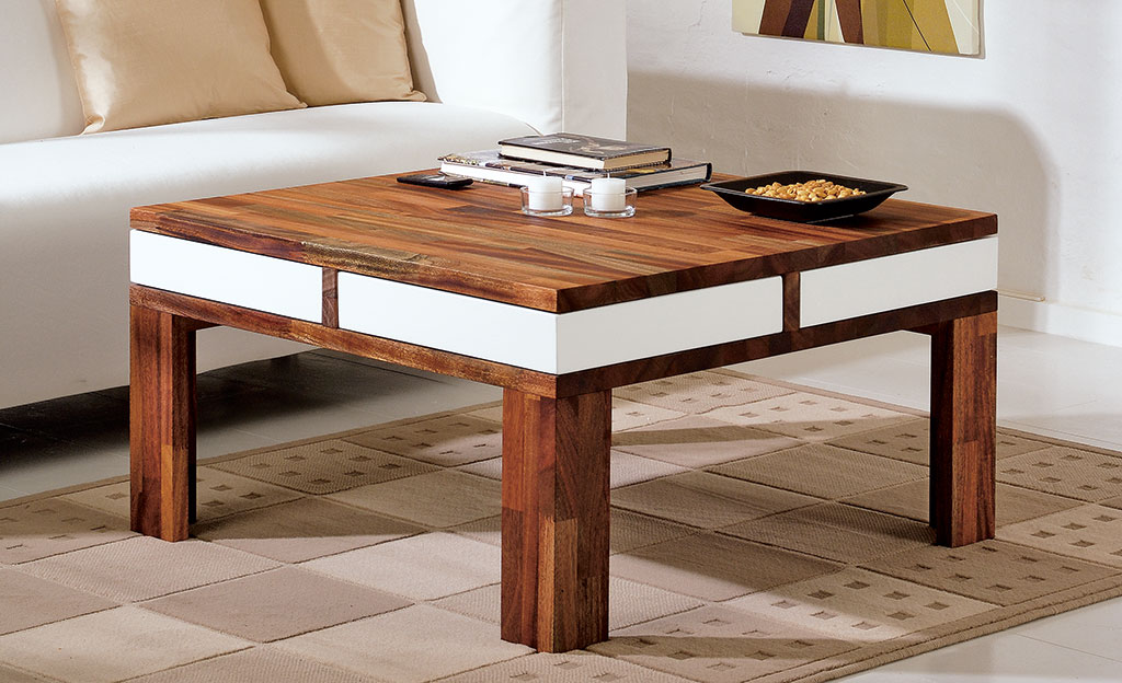 couchtisch mit schubladen tische sitzm bel. Black Bedroom Furniture Sets. Home Design Ideas