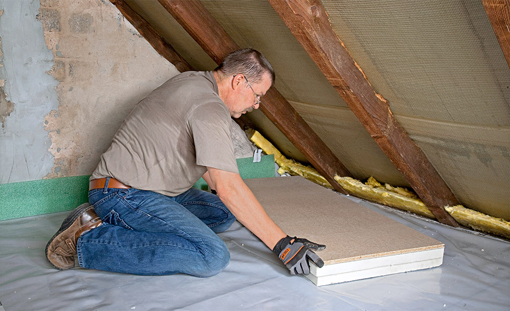Dusche Wandverkleidung Plexiglas : Dachbodend?mmung Bauen & Renovieren selbst.de
