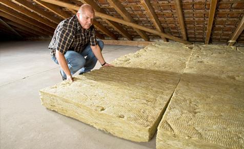 Dachboden dämmen