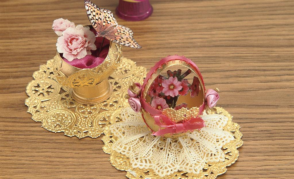 Deko-Eier basteln