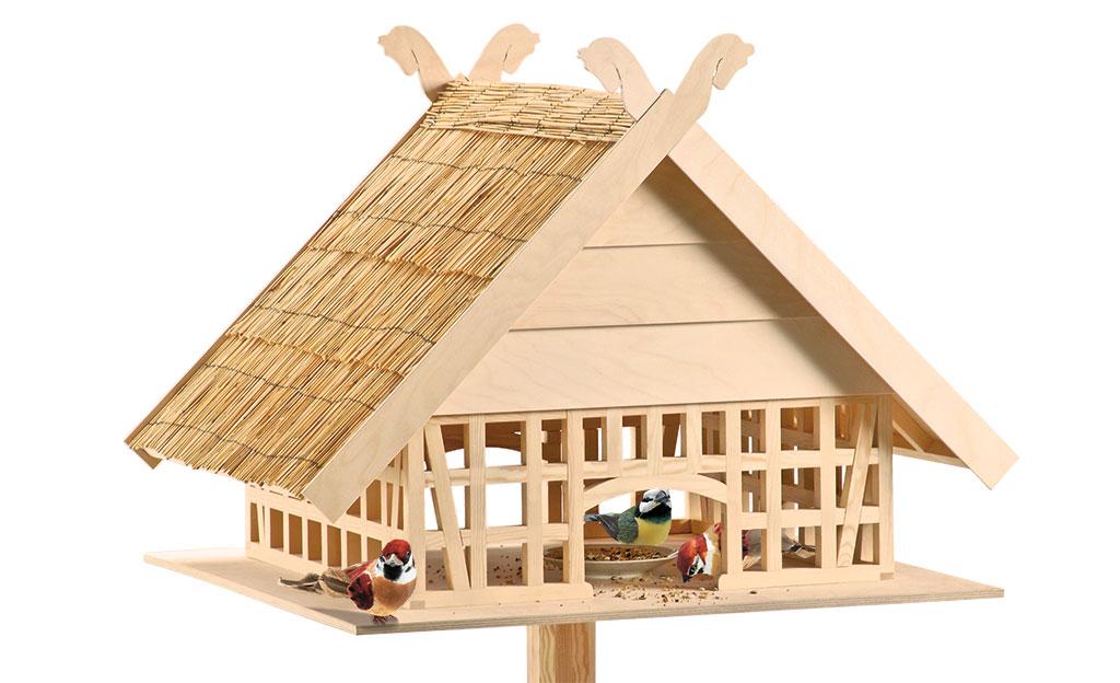 vogelhaus futterhaus nisthilfen. Black Bedroom Furniture Sets. Home Design Ideas