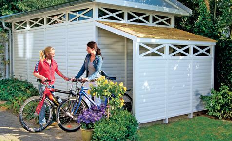 bauanleitung fahrradbox selber bauen bauplan auf. Black Bedroom Furniture Sets. Home Design Ideas