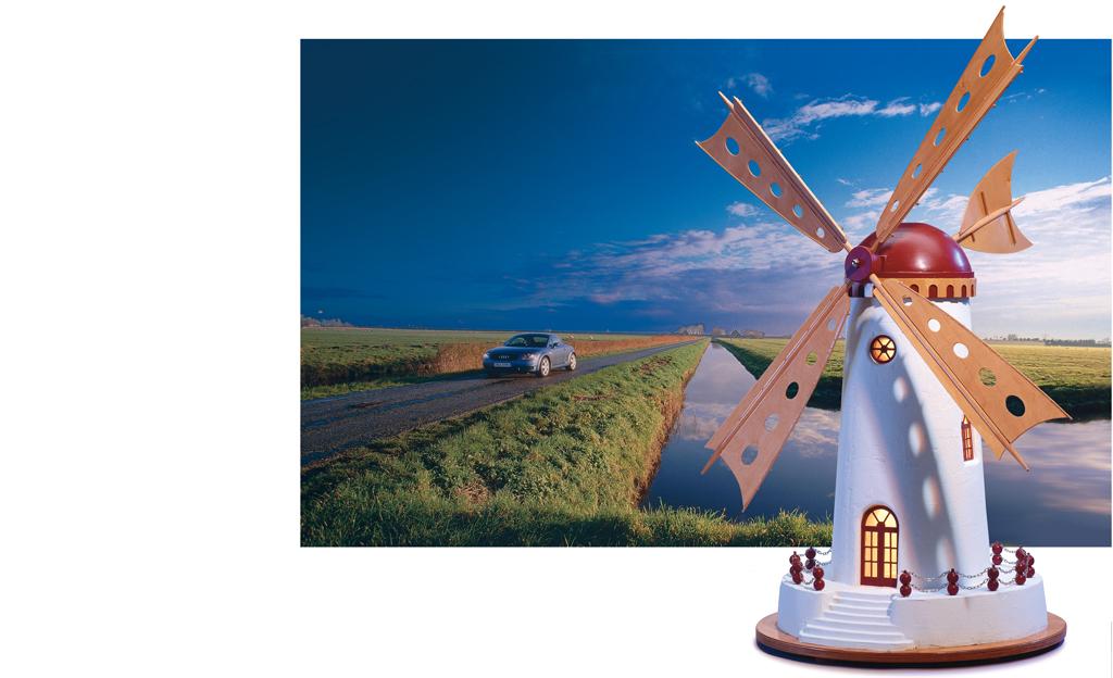 Friesische Windmühle bauen
