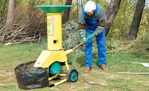 Gartenhäcksler: Messer nachschärfen