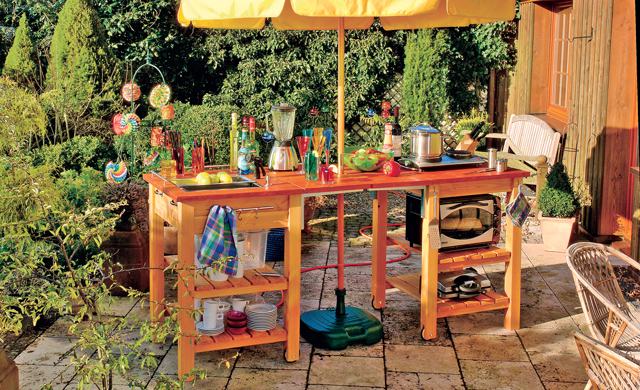 Sommerküche Ausstattung : Sommerküche gartenküche gartenbar bild selbst