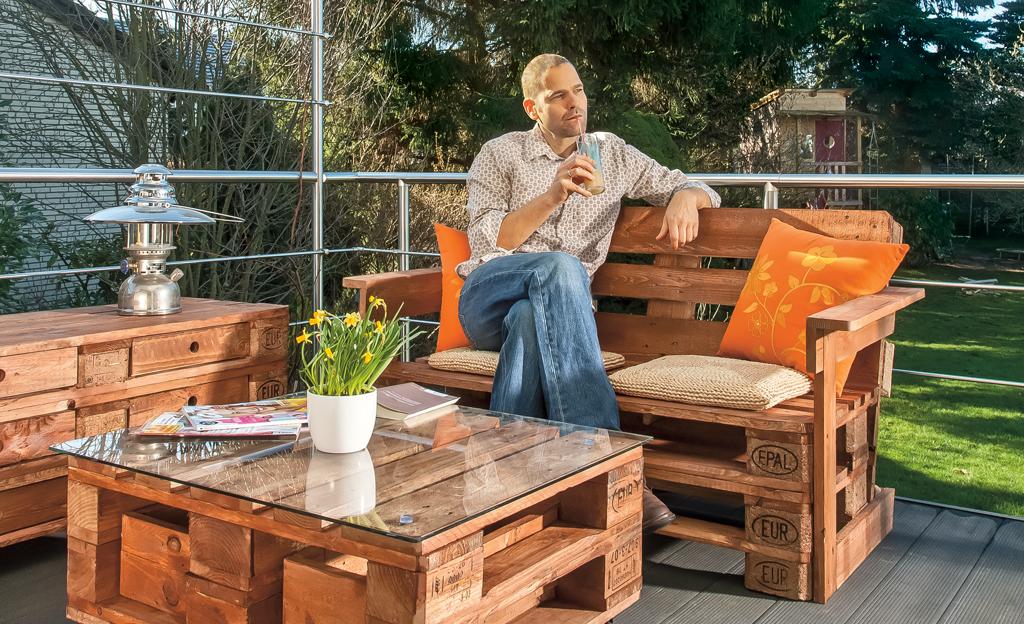 sofa aus paletten selber machen anleitung | centerfordemocracy, Garten Ideen