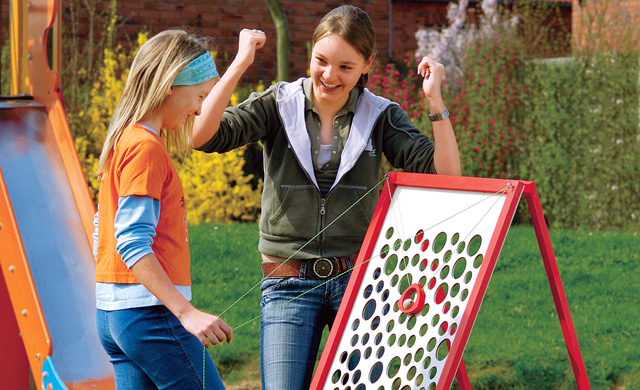 Holzspielzeug: Geschicklichkeitsspiel bauen