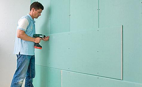 Gipskarton-Wände bauen