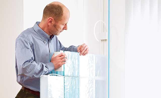 Glasbausteine verbauen
