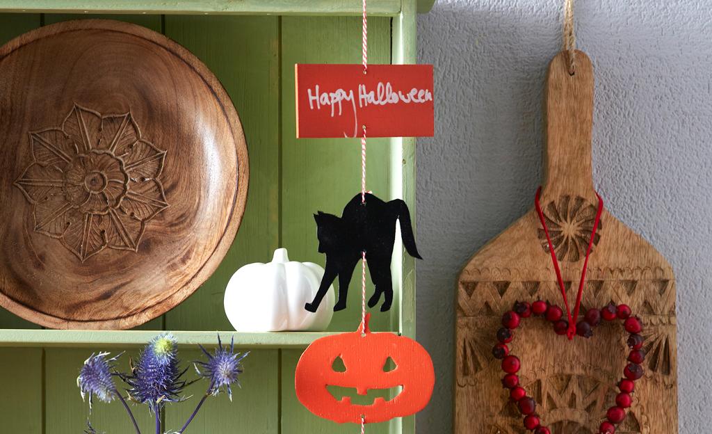 Halloween: Mobile basteln