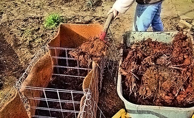 Gabionen: Hochbeet bauen