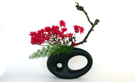 ikebana blumengestecke selber machen dekorieren. Black Bedroom Furniture Sets. Home Design Ideas