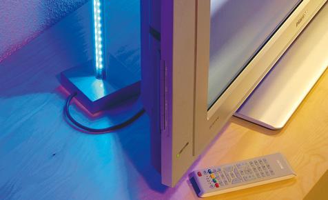 TV-Hintergrundbeleuchtung selber bauen